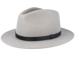 Messer Moon Grey Fedora - Brixton