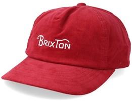Wheelie Low Profile Scarlet Adjustable - Brixton