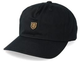 B-Sheild Medium Profile Black Adjustable - Brixton