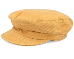 Fiddler Unconstructed Maize Yellow Flat Cap - Brixton