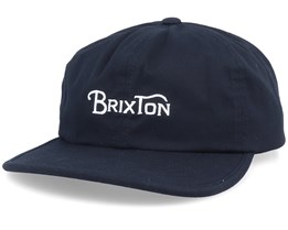 Wheelie Black Strapback - Brixton