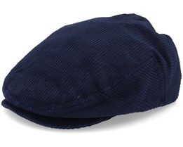 Hooligan Washed Navy Snap Cap - Brixton