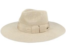 Joanna Knit Packable Hat Light Khaki Fedora - Brixton
