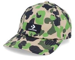 Evergreen Print Dad Cap Leopard Pattern Adjustable - Converse