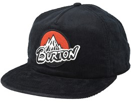 Retro True Black Snapback - Burton