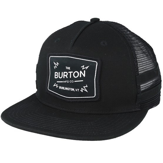 Keps Bayonette True Black Trucker Snapback - Burton - Svart Trucker