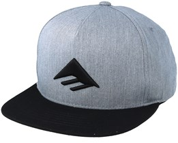 Triangle Grey/Black Snapback - Emerica