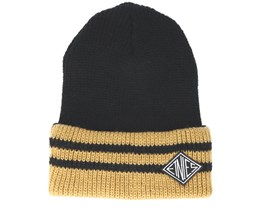 Drifter Black/Yellow Beanie - Etnies