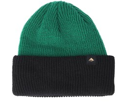Triangle Cuff Green Black Beanie - Emerica