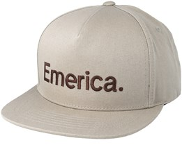 Pure Khaki Snapback - Emerica