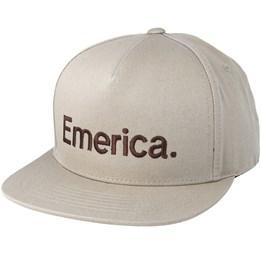 c02859925 Triangle Black/Brown Snapback - Emerica caps | Hatstore.co.uk