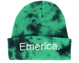 Tied Green/Black Beanie - Emerica