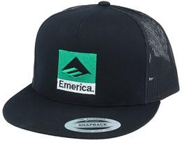 Classic Black/Green Snapback - Emerica