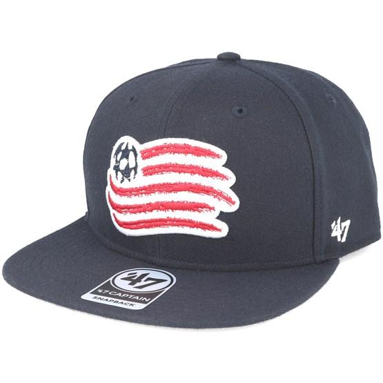 b467379b New England Revolution Sure Shot Captain Navy Snapback - 47 Brand caps -  Hatstoreworld.com