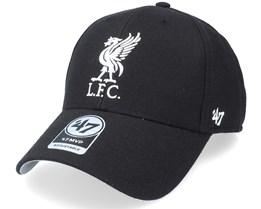Liverpool FC MVP Black Adjustable - 47 Brand