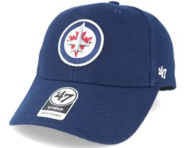 Winnipeg Jets Mvp Navy Adjustable - 47 Brand