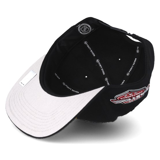 b87f07b7b6a Boston Bruins Sure Shot Black Snapback - 47 Brand caps - Hatstoreworld.com