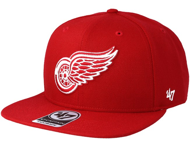 sports shoes edafe 6f583 Detroit Red Wings Sure Shot Red Snapback - 47 Brand caps -  Hatstorecanada.com