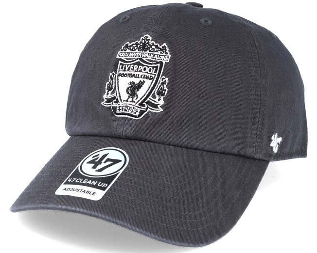5e2395c73f1 Liverpool `47 Clean Up Charcoal Grey Adjustable - 47 Brand caps -  Hatstoreworld.com