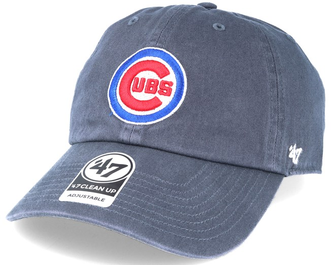 a4b8a86ee Chicago Cubs 2 Tone Clean Up Navy Adjustable - 47 Brand Boné - Hatstore