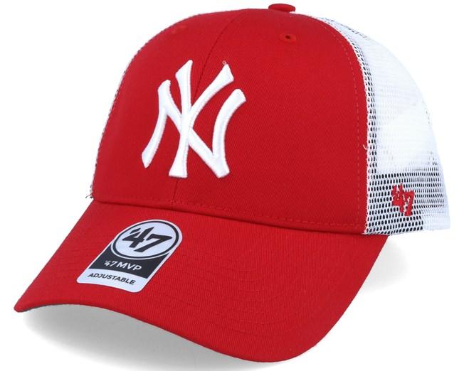 1649a43939320 New York Yankess Branson `47 Mvp Red Adjustable - 47 Brand caps ...