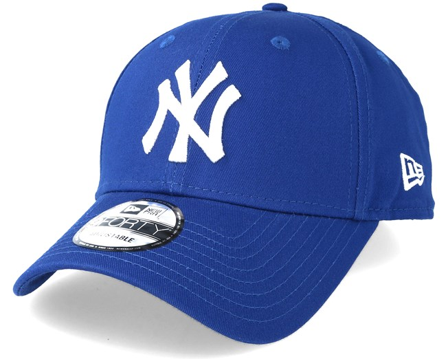 3abbab62b8dd4 New York Yankees 940 League Basic Blue Adjustable - New Era caps -  Hatstoreworld.com