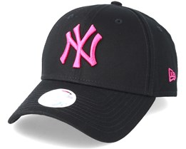 New York Yankees Womens 9Forty Fashion Black Adjustable - New Era 00523847e56