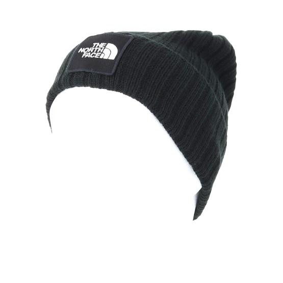 bb4911da262 Logo Box Black Cuff Beanie - The North Face beanie - Hatstore.co.in