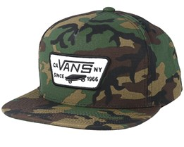 Full Patch Classic Camo Snapback - Vans