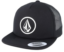 Hellican Cheese Black Trucker - Volcom