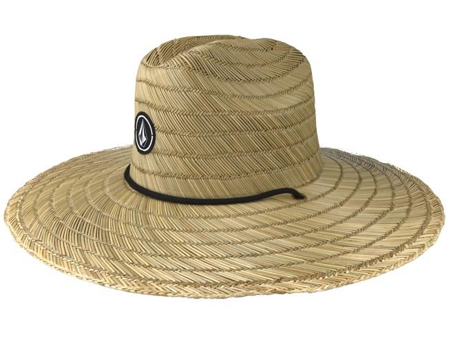 83826a50c Quarter Natural Straw - Volcom hats - Hatstoreworld.com