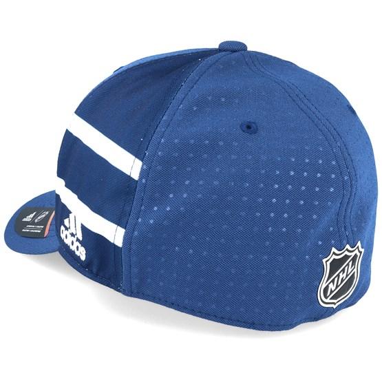cb4f3ede ... toronto maple leafs draft hat Toronto Maple Leafs Draft Structured Blue  Flexfit ...