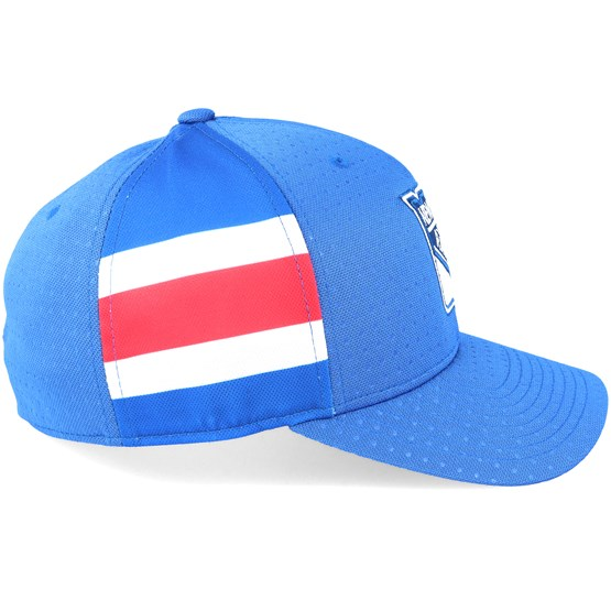1d70c126f47 New York Rangers Draft Structured Blue Flexfit - Adidas cap - Hatstore.co.in