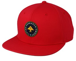 Lifted Research Red Snapback - LRG