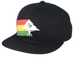 LRG Treelay Black/White Snapback - LRG