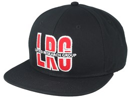 LRG Wild Card Black/Red Snapback - LRG