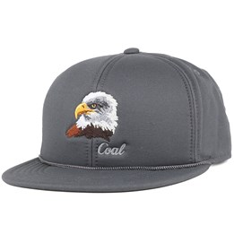 23d7dc951 The Wilderness Charcoal Eagle Snapback - Coal