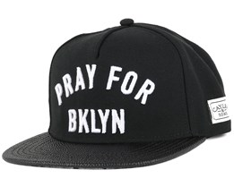 Pray For BKLYN Black Snapback - Cayler & Sons