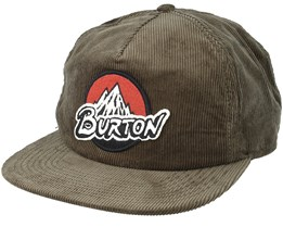 Retro Dusty Olive Snapback - Burton