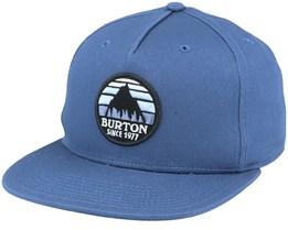 Underhill Dark Slate Blue Snapback - Burton