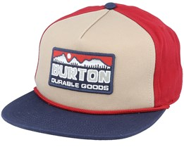 Buckweed Tandori/Red/Navy Snapback - Burton
