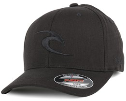 Tepin Curve Peak Black Adjustable - Rip Curl