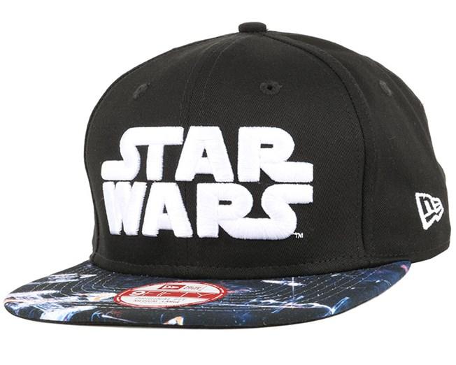 Star Wars Graphic Black 9Fifty Snapback - New Era cap - Hatstore.co.in 60832ae5971