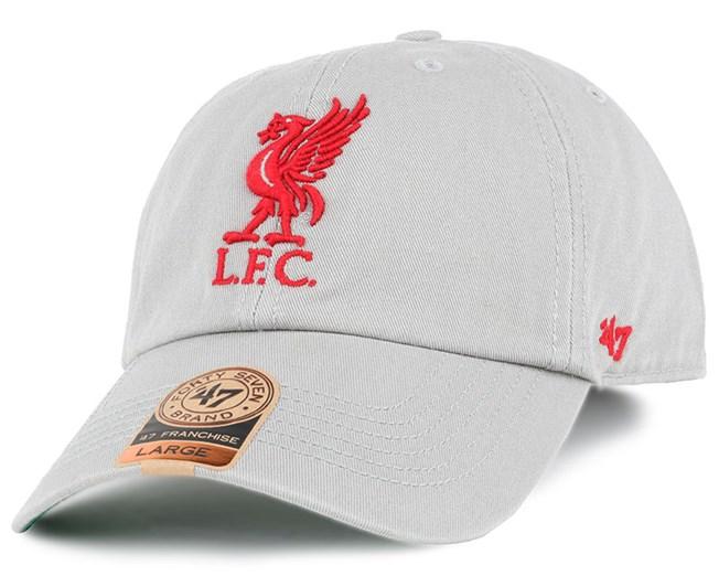 Liverpool FC Grey Franchise - 47 Brand lippis - Hatstore.fi ea4159b1af
