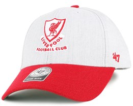 f8e7a0b9a98 Liverpool FC Munson MVP Grey Adjustable - 47 Brand