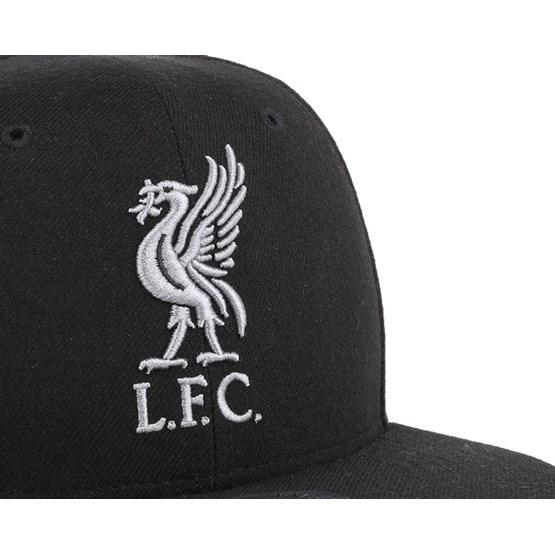 b954f0ad7b1 Liverpool FC No Shot Captain Black Snapback - 47 Brand caps ...