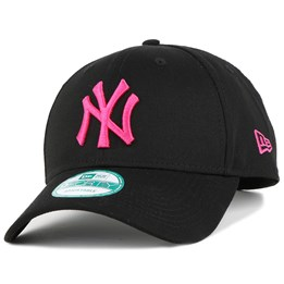 New Era NY Yankees Black Pink 940 Adjustable - New Era 24 baeae5ff56