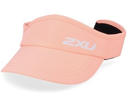 Run Visor Pop Coral/White Visor - 2XU