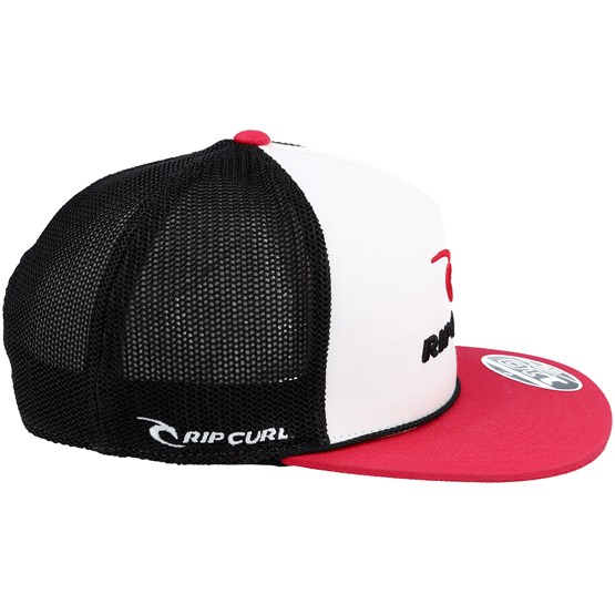 Rippy Team Flat White Red Trucker Snapback - Rip Curl caps -  Hatstoreworld.com 32185168e632