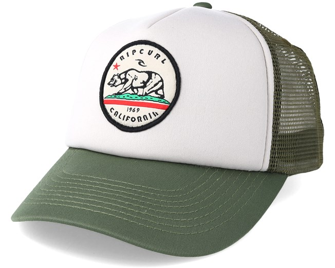 Cali Bear Trucker Dusty Olive Adjustable - Rip Curl - Gorras Trucker -  Hatstore.es 627d10c93d7
